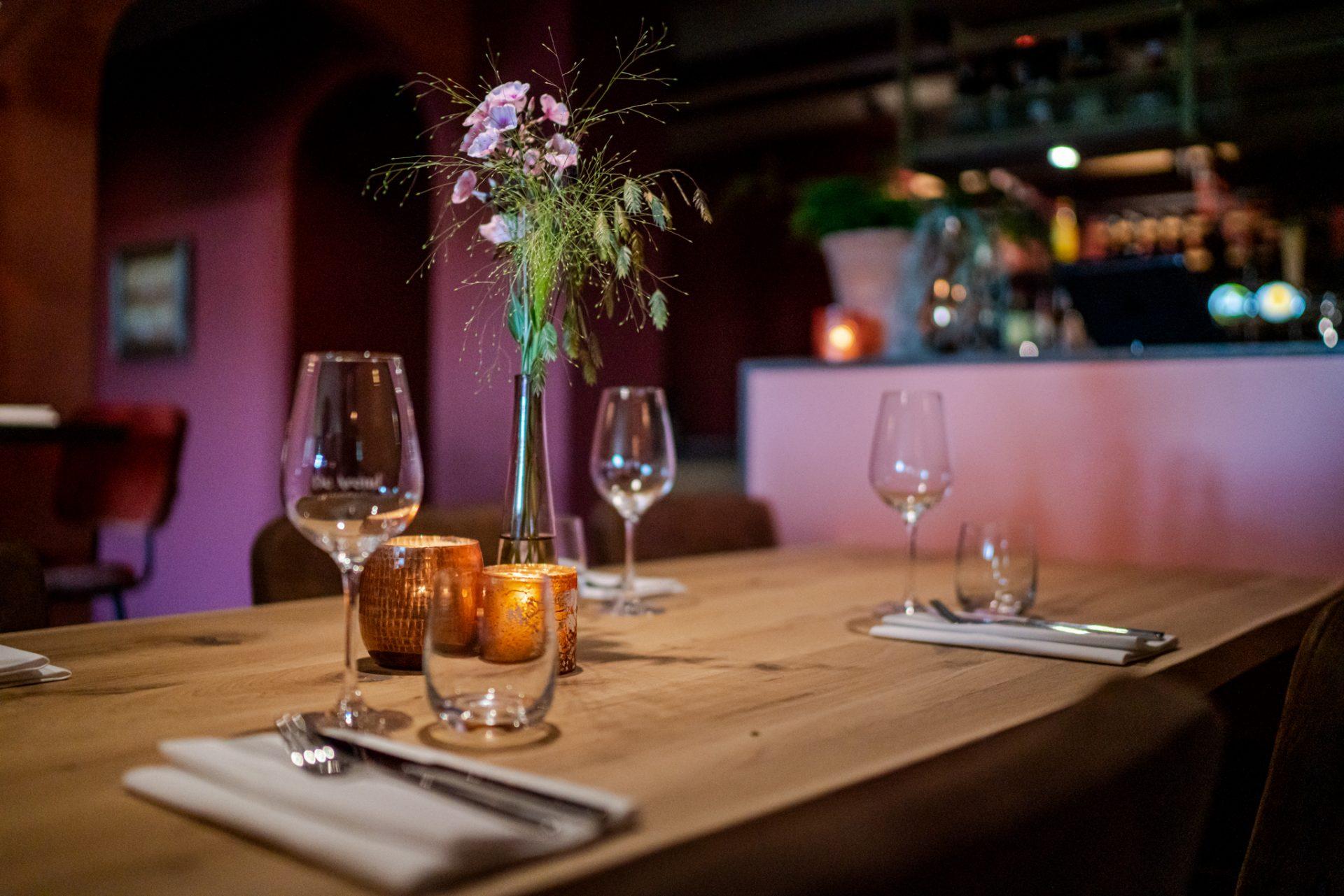 Dineren bij Restaurant De Arend