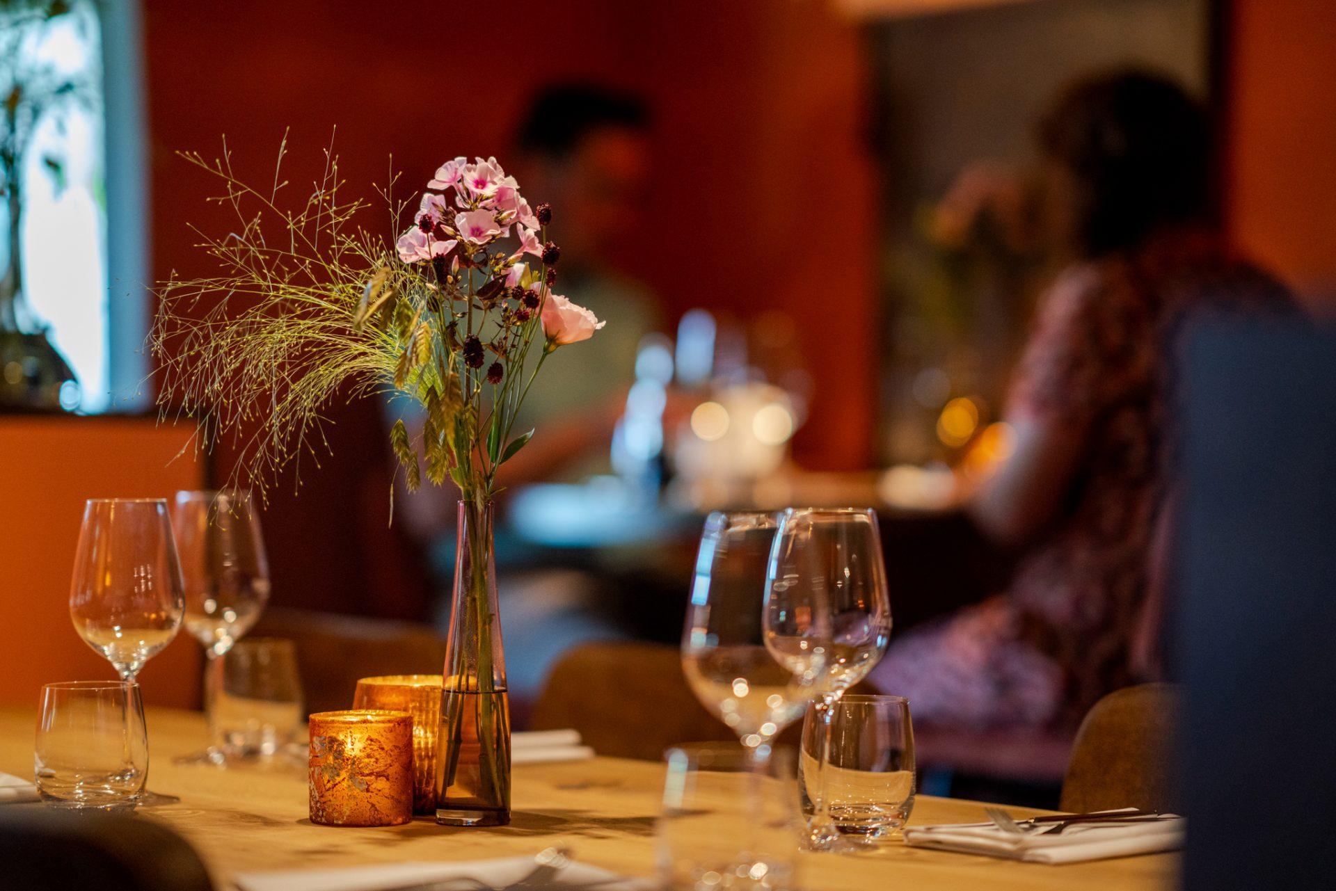 Restaurant De Arend Winssen - gedekte tafel