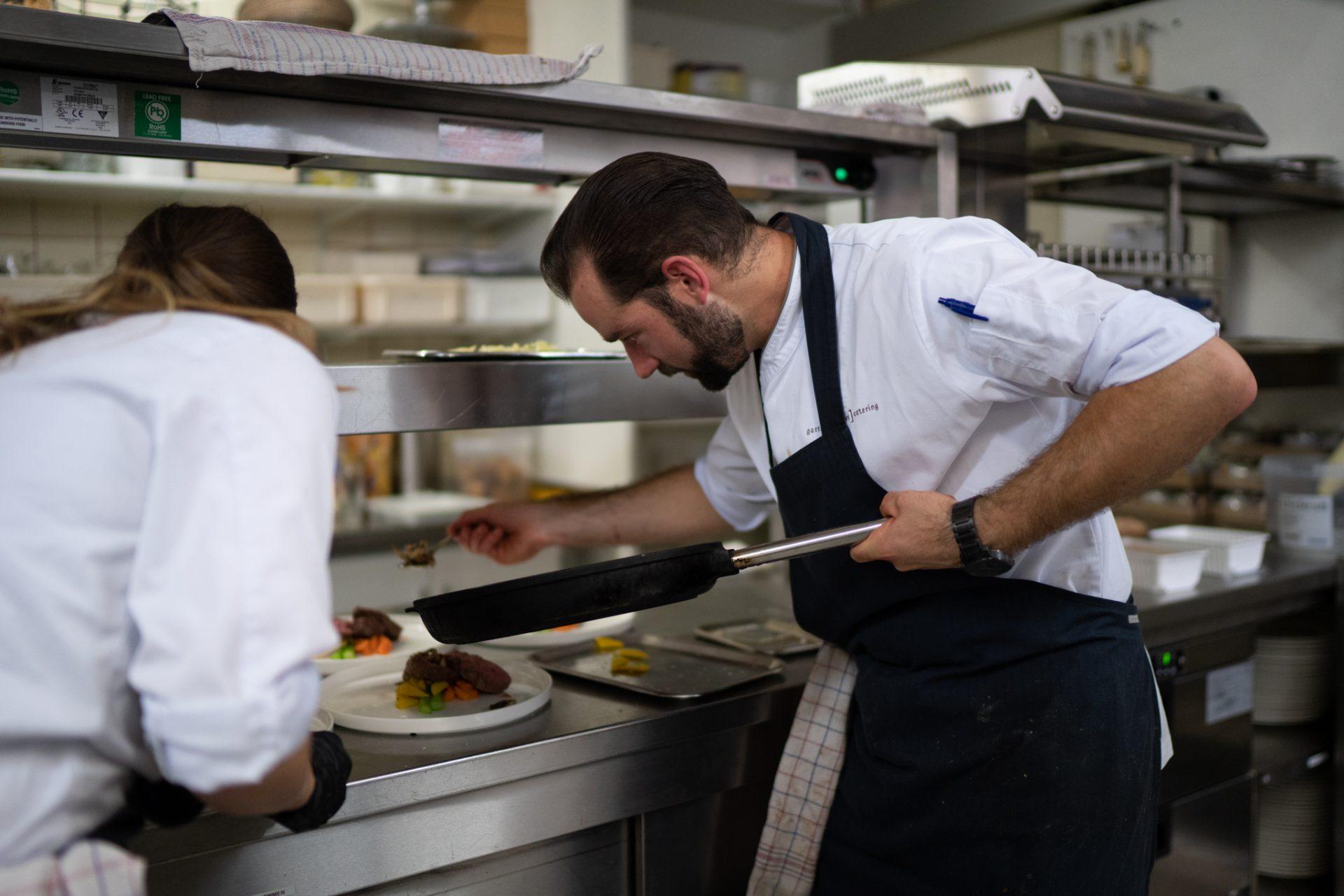 Restaurant De Arend Winssen - keuken