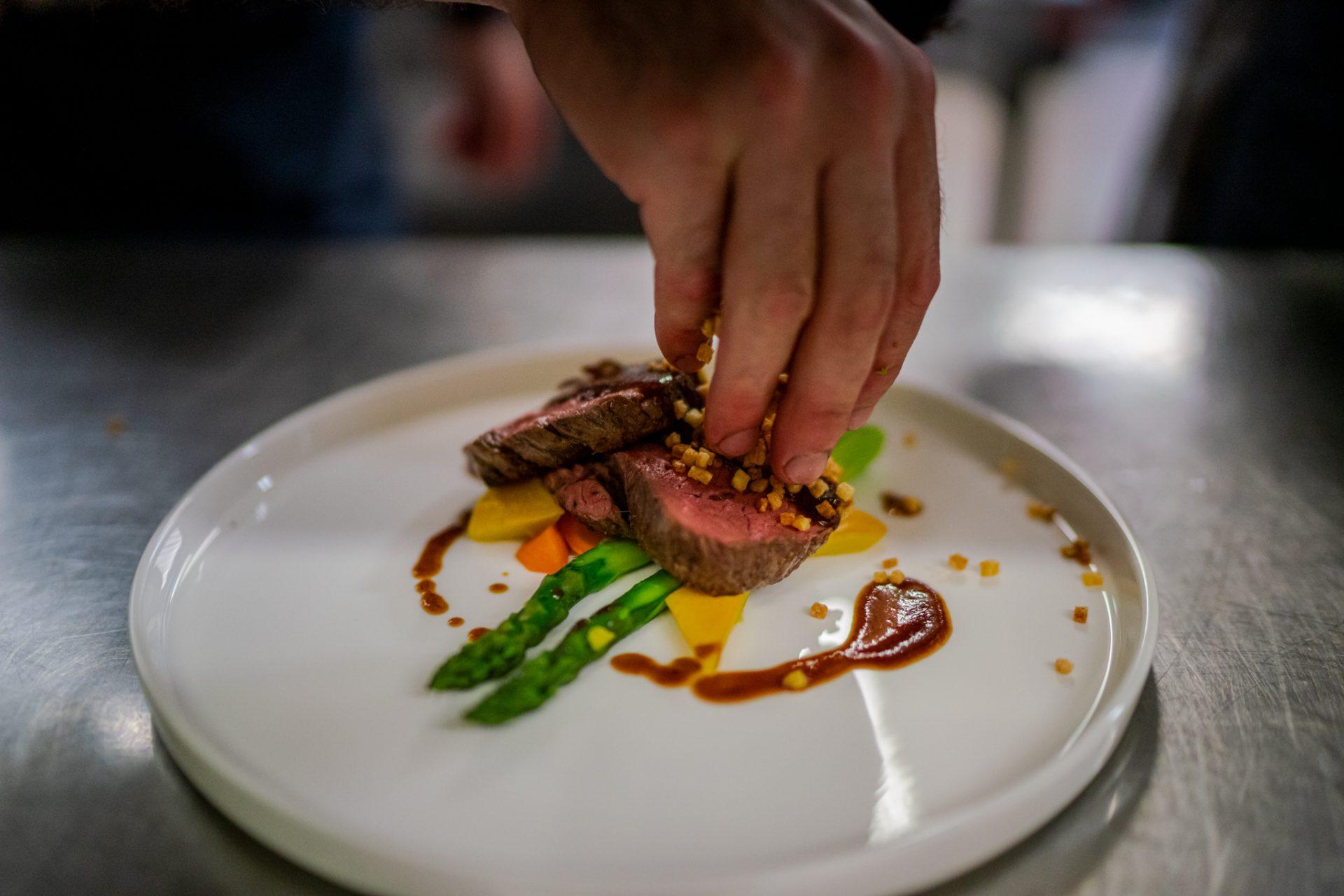 Restaurant De Arend - opgemaakt bord